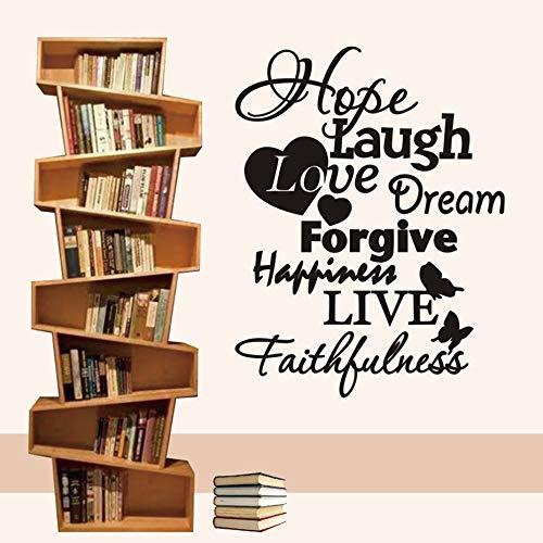 tzxdbh Hope Laugh Love Dream Perdonar la Felicidad Vivir ...
