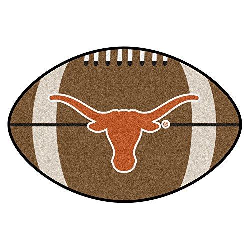 - FANMATS NCAA University of Texas Longhorns Nylon Face Football Rug