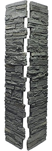 (NextStone Slatestone Split Post Cover 8x8x41 Rundle Ridge)