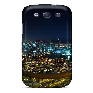 KPlank ZEs6695DREy Case Cover Galaxy S3 Protective Case Spectacular View Dubai City