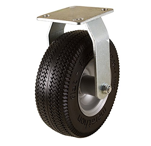"Marathon 8"" Rigid Caster with Flat Free Tire"