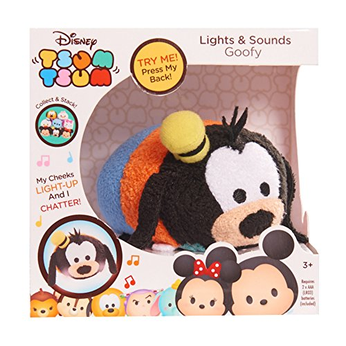 Price comparison product image Disney Tsum Tsum Lights & Sounds Goofy Plush