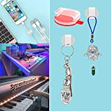 Clear Strip Light Mounting Clips Self-Adhesive