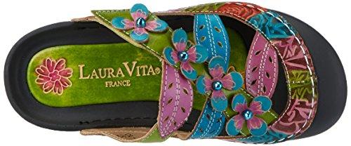 Laura Vita Bianca 10, Zuecos para Mujer Grün (Vert)