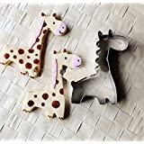 Ainest Giraffe Cookie Biscuit Cutter Cake Pastry Bread Mould Mold Baking Tools Hi