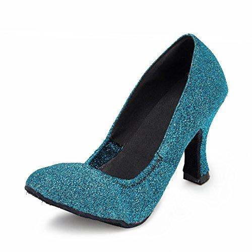bal Salle femme 8cm de heel Blue Miyoopark qZdwFEnSE