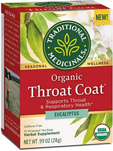 (Traditional Medicinals Organic Throat Coat Eucalyptus Tea)