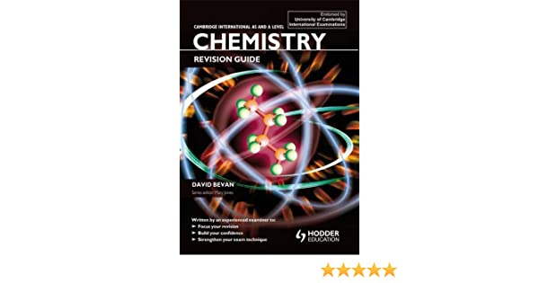 amazon com cambridge international as a level chemistry revision rh amazon com GCSE Chemistry Revision Sheets Chemistry Revision Sheets