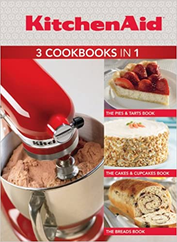 Kitchenaid 3 Cookbooks In 1 Pies Tarts Cakes Cupcakes Breads