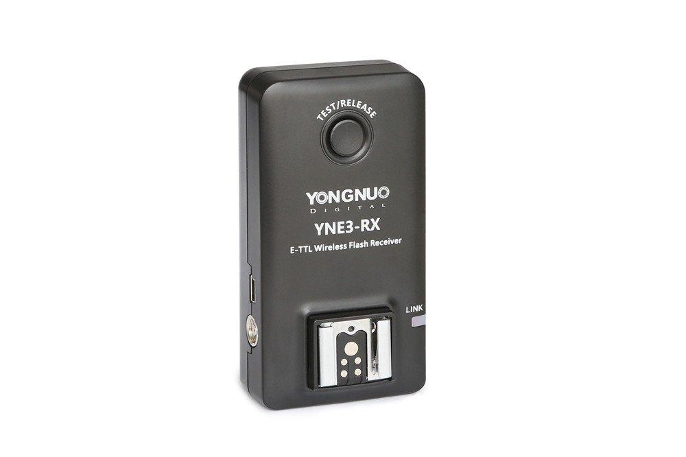 YONGNUO E-TTL YNE3-RX Wireless Remote Flash Receiver for YN-E3-RT/ YN600EX-RT/ST-E3- RT/ 600EX-RT by Yongnuo
