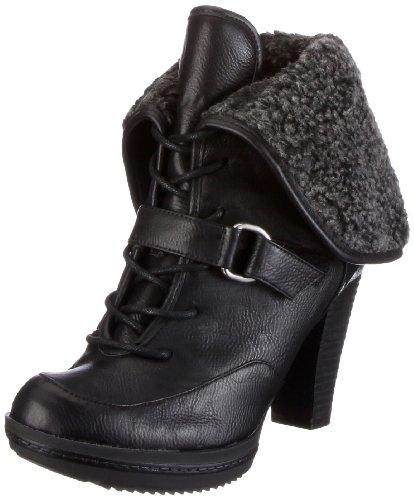 Naturalizer TYLA A1614S1900 Damen Fashion Halbstiefel & Stiefeletten Schwarz (Black)