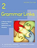 img - for Grammar Links 2: Split Text A book / textbook / text book