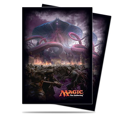 Magic Gathering The Sleeves (Magic the Gathering - MTG Eldritch Moon Emrakul Card Sleeves (80 Count) Deck Protectors)