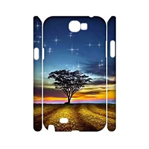 CHSY CASE DIY Design Beautiful Night View Pattern Phone Case For Samsung Galaxy Note 2 N7100