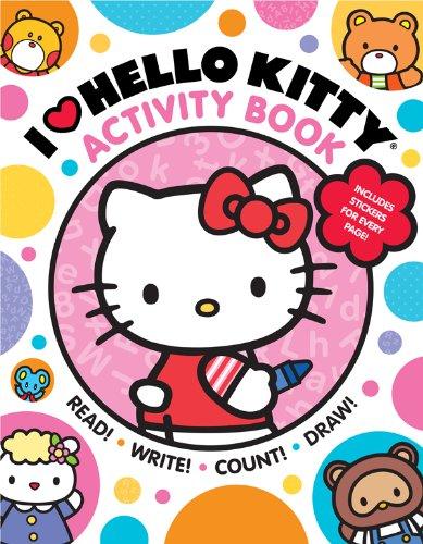 I Heart Hello Kitty Activity Book: Read, Write, Co…