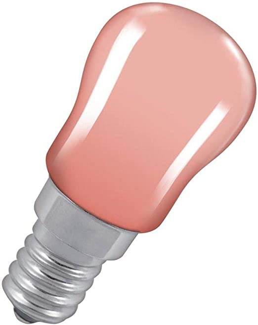 Pack of 3-15 WATT E14 Small Screw Cap Dark Pink//RED Pygmy Light Bulb Fully DIMMABLE Lamps Very Slight Scratches to Surface but Does not Effect The Colour