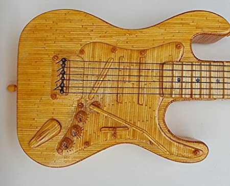 Kit de ajuste de artesanía Fósforo modelos de naves de Katrina: la guitarra eléctrica: Amazon.es: Juguetes y juegos