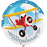 BirthdayExpress Airplane Adventure Party 18'' Foil Balloon
