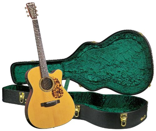 Blueridge BR-143CE Historic Series Cutaway Acoustic-Electric 000 Guitar with Deluxe Hardshell Case