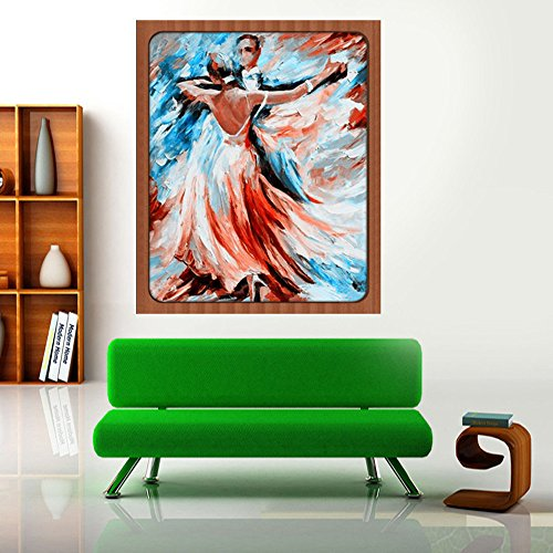 Sttech1 DIY 5D Diamond Painting by Number Kits, Classic Tango Dance Diamond Embroidery Paintings Pictures Arts Craft for Wall Stiker Home Decor (Dance) by Sttech1 (Image #2)