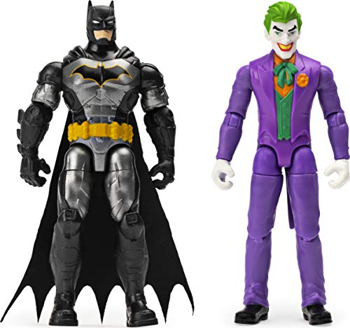 BATMAN, 4-Inch BATMAN and THE JOKER Action Figures with 6 Mystery Accessories