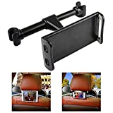 """Car Headrest Mount, JRtech Car Seat Tablet Holder 360° Rotation for iPad/Samsung Galaxy Tabs/Amazon Kindle Fire HD/Nintendo Switch/Other Devices 4""""-10.1"""""""