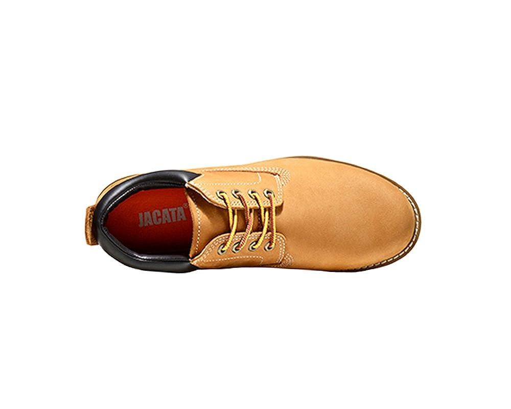 2d6d0fdaa51 Jacata Men's Low-Cut Work Boots Water Resistant Boots Natural Rubber Blend  Soles
