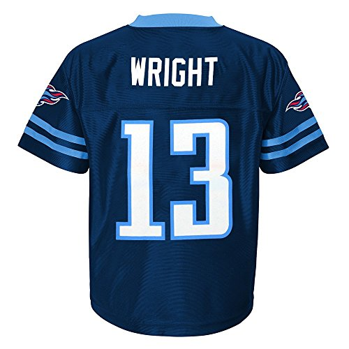 Outerstuff Kendall Wright NFL Tennessee Titans Replica Home Jersey Infant Toddler (Toddlers Nfl Player Replica Jersey)