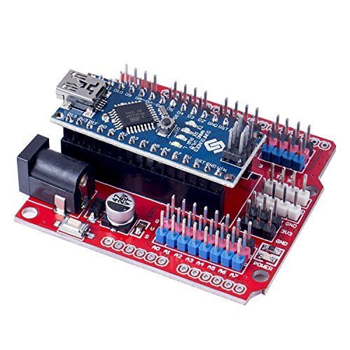 SunFounder DIY 4-DOF Robot Kit – Sloth Learning Kit Ultrasonic HC-SR04 Obstacle Avoidance Servofor Arduino Nano