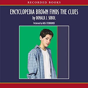 Encyclopedia Brown Finds the Clues Audiobook