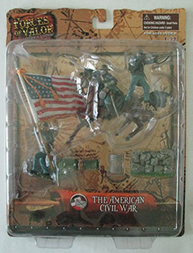 Forces of Valor Historical Legends The American Civil War 1:32 Scale Action Figure and Accessories (Forces Of Valor Toys)