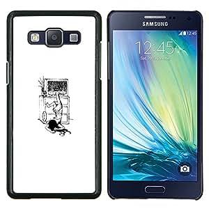 BearCase / Cubierta de protección Caso duro de la contraportada de Shell Plástico /// Samsung Galaxy A5 ( A5000 ) /// El Anillo Funny Girl