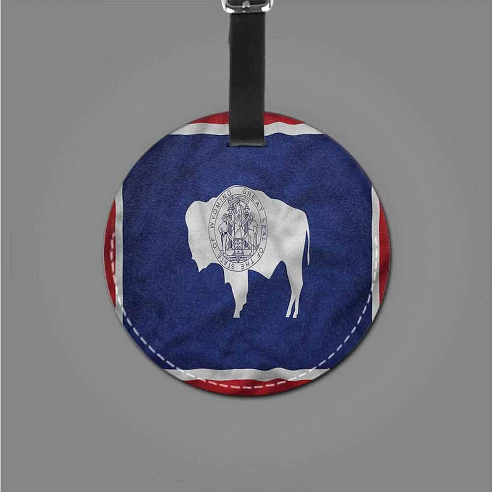 Baggage Tag American,California Republic Bear Bag Pendant