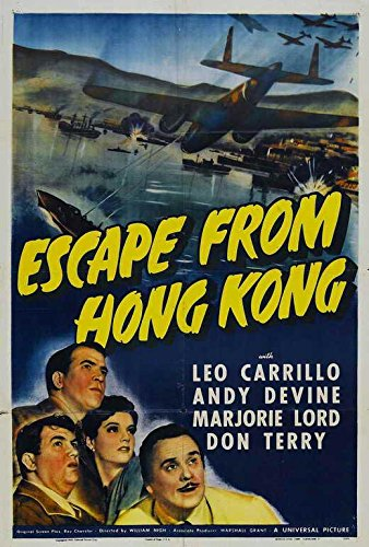 Escape from Hong Kong Poster
