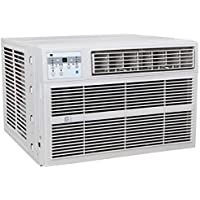 PerfectAire 3PACH12000 12,000/11,600 BTU Window Air Conditioner with Electric Heater, 450-550 Sq. Ft. Coverage