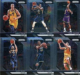 Amazon com: 2018-19 Panini Prizm Basketball Utah Jazz Team