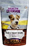 Health Extension Bully Puffs Dog Treat, Duck and Y...