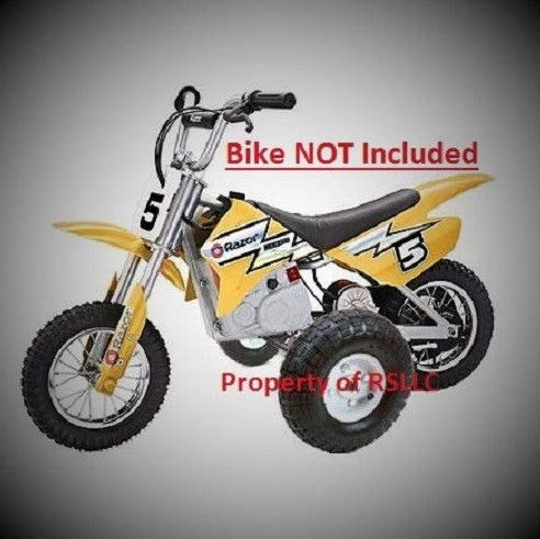 Rigid Motorcycle Training Wheels for Razor MX350 and MX400 ONLY