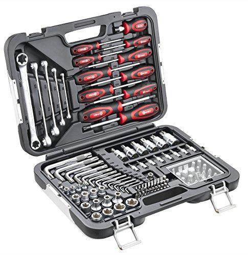 Connex Premium-Werkzeugkoffer, TX-Sortiment KFZ, 120-teilig, COXBOH600120