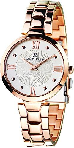 Daniel Klein Analog Silver Dial Women's Watch-DK11396-2