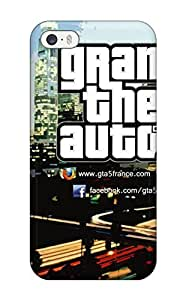 Earurns Case Cover Protector Specially Made For Iphone 5/5s Grand Theft Auto Girl