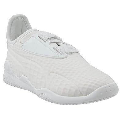 PUMA Women's Mostro Fashion Sneakers, Puma White, 10 B(M) US