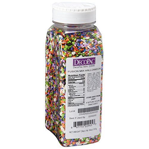 26 oz Halloween Fusion Quins Sprinkles Mix]()