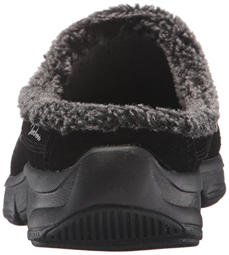 Skechers Womens Comfy Living Chillax Mule Black
