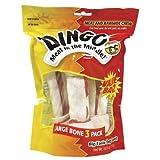 DINGO LARGE WHITE 3 PK VALUE BAG, My Pet Supplies