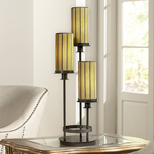 Contemporary Mission 30 High Three Light Console Lamp – Robert Louis Tiffany