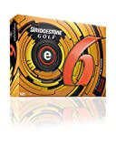 Bridgestone Golf 2013 e6 Golf Balls (Pack of 12), Orange, Outdoor Stuffs