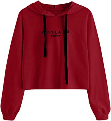 WINJIN Sweat-Shirts Femme,Pullover,Pull Fille,