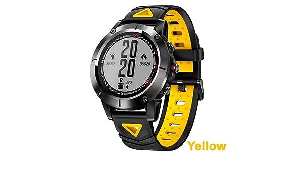 ZCPWJS Pulsera Inteligente G01 GPS Smart Watch Hombres IP68 ...