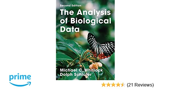 The analysis of biological data 9781936221486 medicine health the analysis of biological data 9781936221486 medicine health science books amazon fandeluxe Choice Image